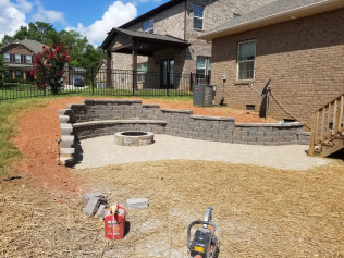 hardscaping rock hill sc